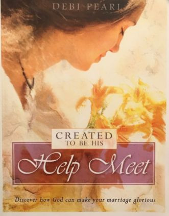 Created to be His Help Meet by Debi Pearl book cover (2004)